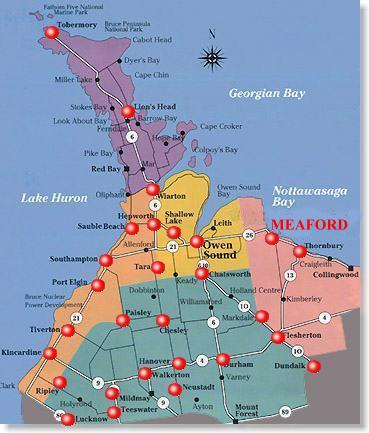 map_meaford_ont